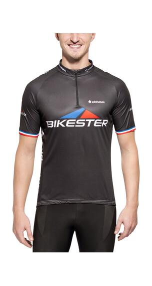 Bikester Basic Team Cykeltrøje korte ærmer Herrer sort
